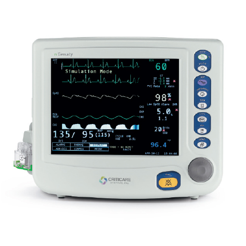 Criticare nGenuity 8100EP1 Patient Monitor
